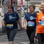 Lovey & Franziska am Frauenlauf