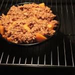 Aprikosen-Thymian-Crumble mit #NestleFitnessCH