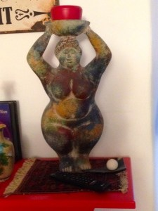 Starke Frau – meine Statue