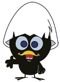 Calimero aus dem Zeichentrickfilm