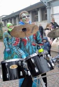 Schlagzeuger der Sänklochfäger