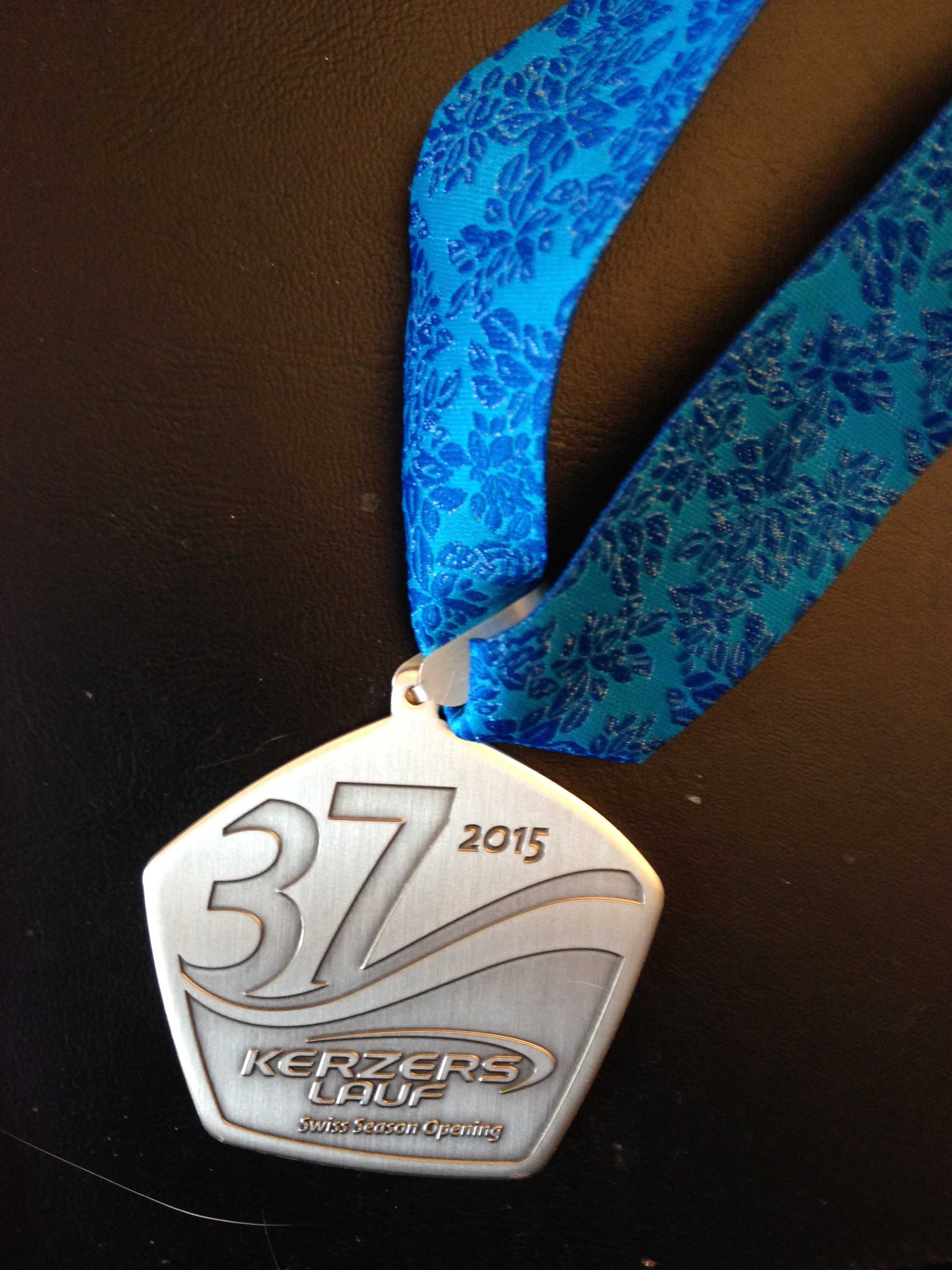 Medaille vom 37. Kerzerslauf