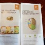 Soja-Snacks von Landgarten – mit 34% Eiweiss