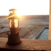 Sonnenuntergang im Marina Lodge, Port Ghalib