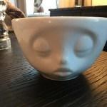 Teetasse mit Gesicht