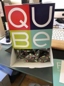 Swiss Qube Schoggi – Wochenration